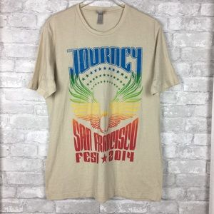 Journey Band Graphic Tee San Francisco 2014